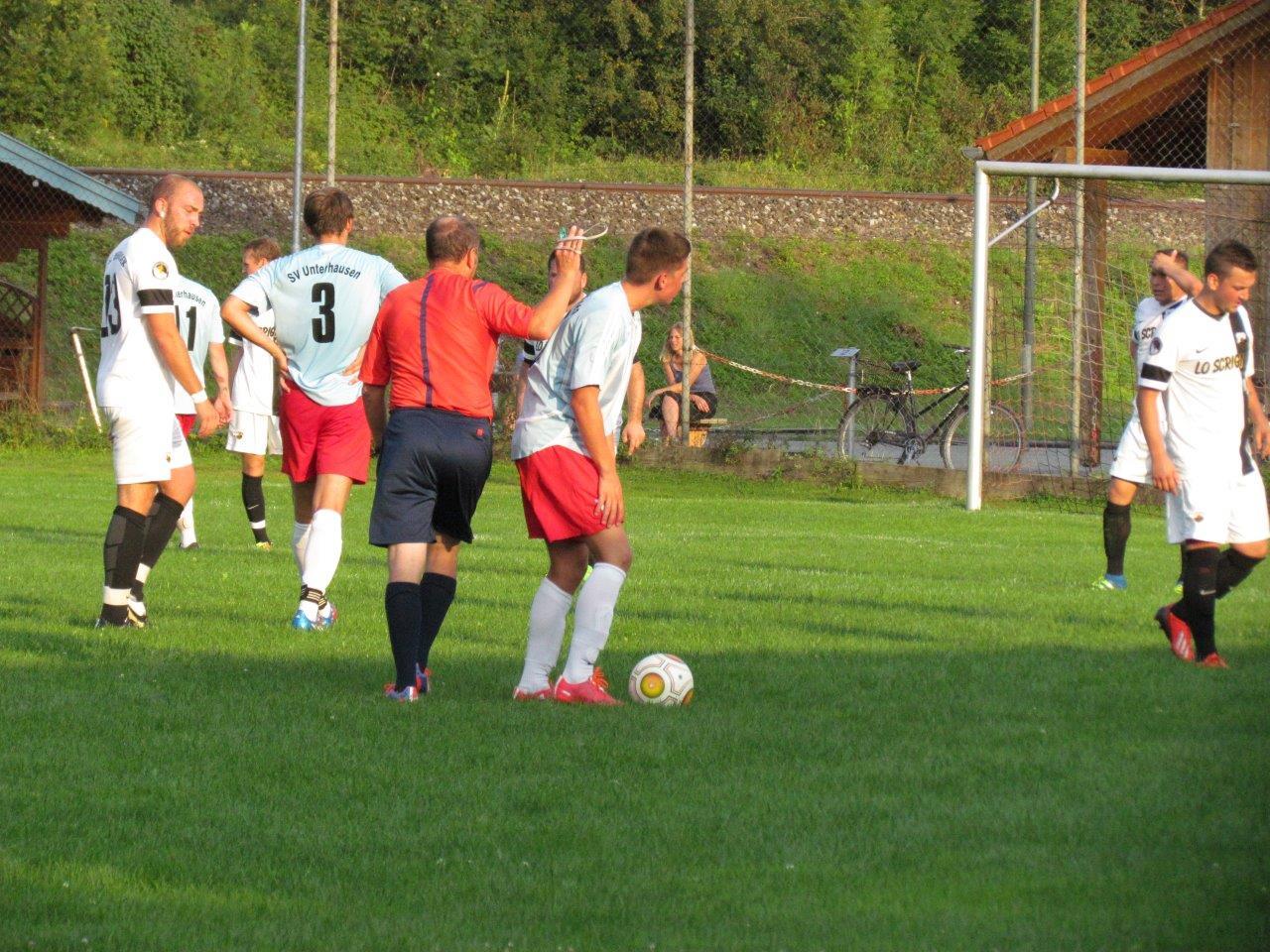 sv-unterhausen.de - SVU holt zuhause 3 Punkte im Derby
