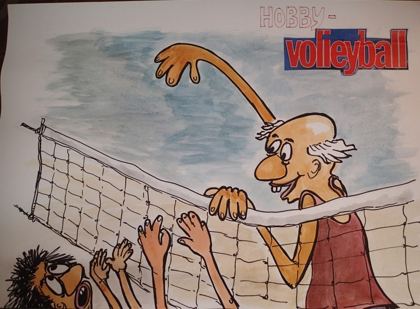 Hobby Volleyball